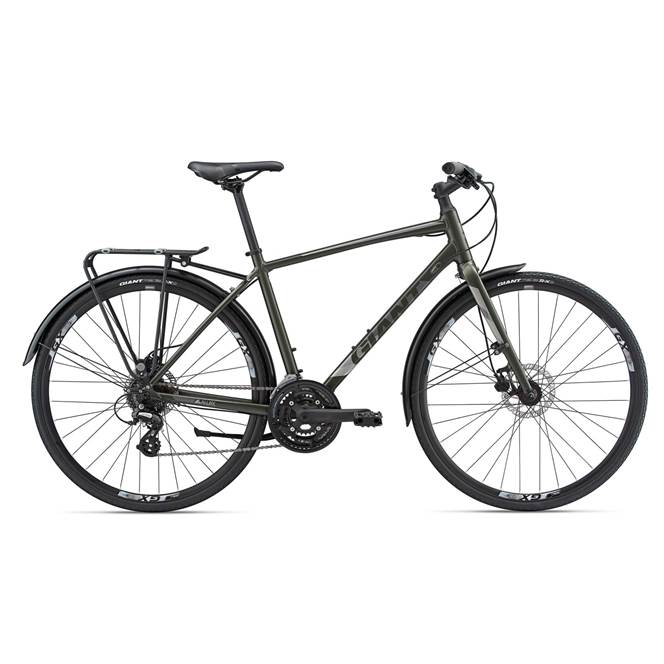 GIANT ESCAPE 2 CITY DISC 2018 GENTS HYBRID BIKE