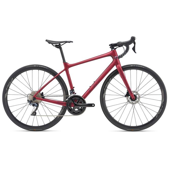 2019 Liv Avail Advanced 1 Carbon Womens Road bike in Red