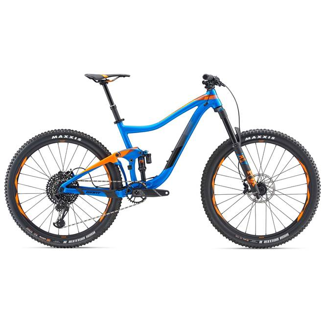 2019 Giant Trance 1 Mens Full Suspension bike in Blue