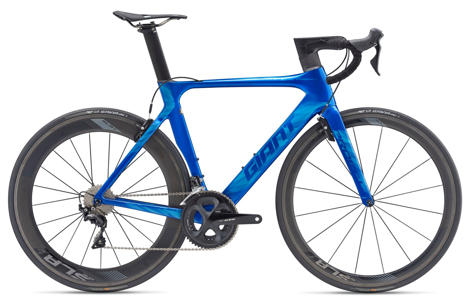 534807319f6 2019 Giant Propel Advanced Pro 2 Road Bike in Blue pennyfarthing ...