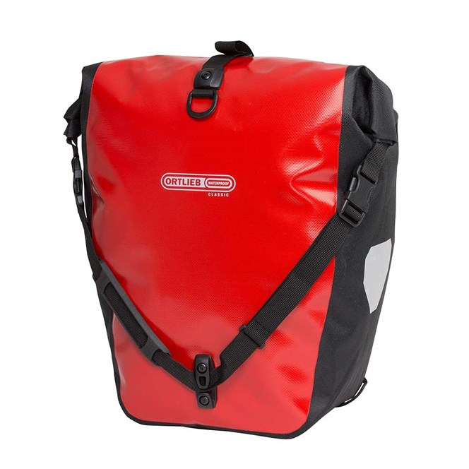 ORTLIEB BACKROLLER CLASSIC RED/BLACK PANNIER SET