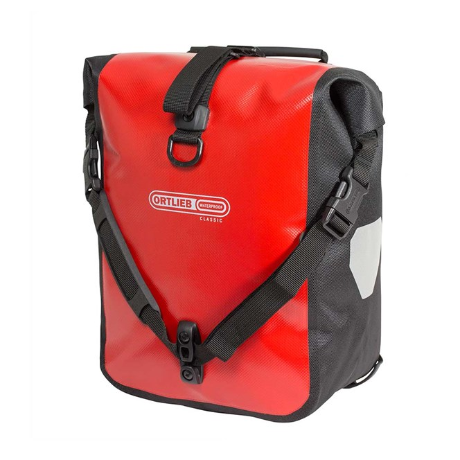 ORTLIEB SPORTROLLER CLASSIC RED/BLACK PANNIER BAG
